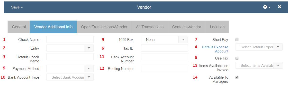 vendor-additional-info-update