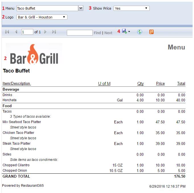 catering-menu-report-detail