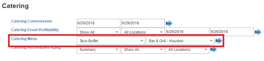 catering-menu-report